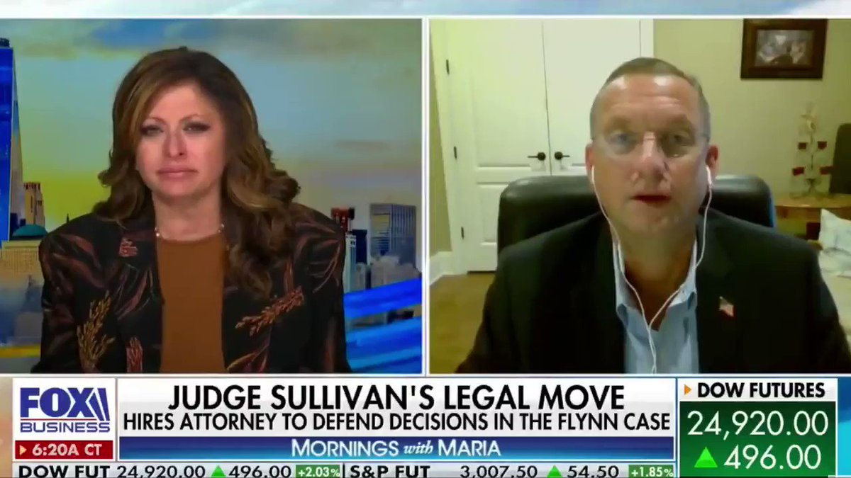 Since when does a judge get to play judge, juror, and prosecutor? The prosecutors dropped the charges against General Flynn. The judge needs to do his job and grant the dismissal.