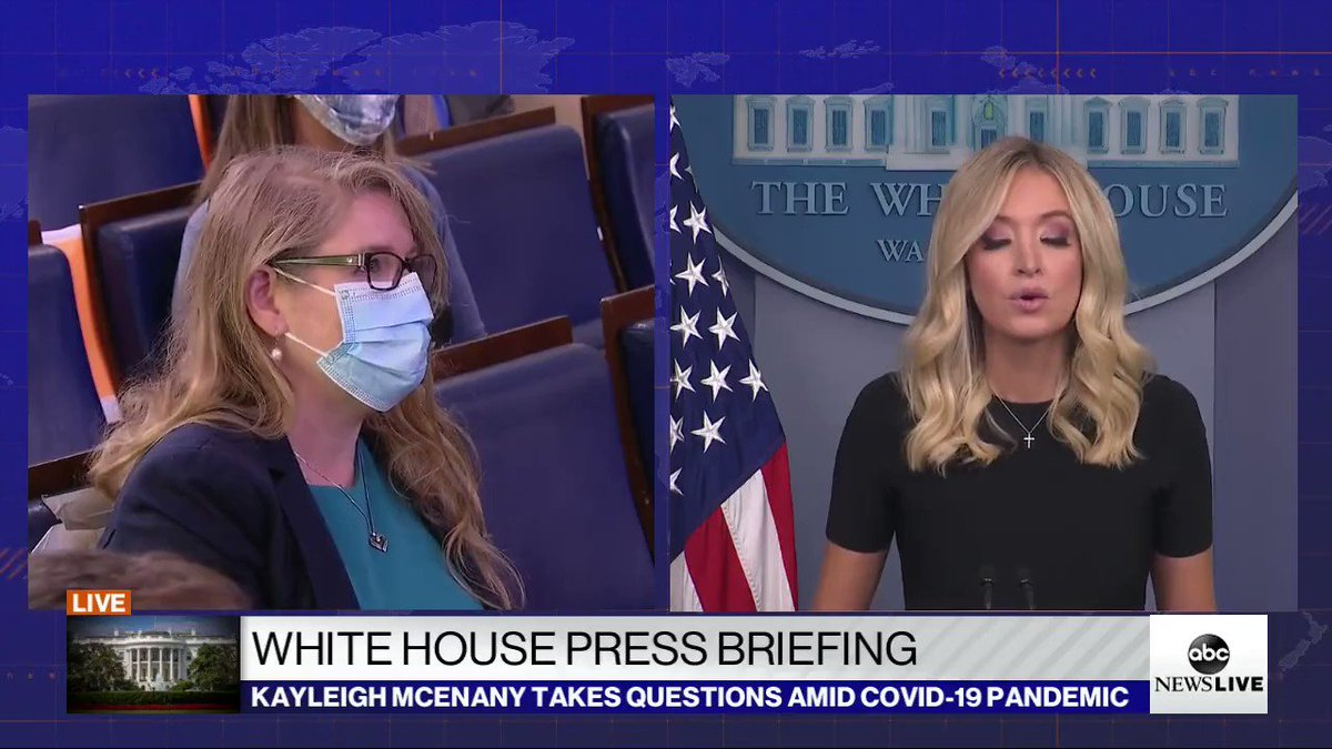 White House Press Secretary @KayleighMcEnany: 42 states are now under 10% in #Coronavirus positivity rates pic.twitter.com/ZNa9lJU3kw