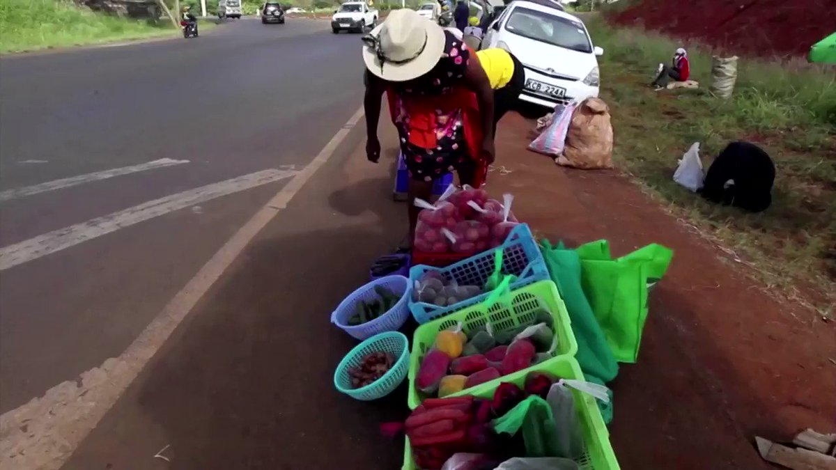 WATCH: An increasing number of Kenyans are starting to operate small businesses out of the trunks of their cars to make ends meet https://t.co/9dSm6LvT7g