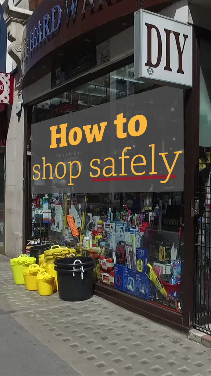 Heres how to keep yourself and others safe when shopping 🛍️ Non-essential shops in England can open on 15 June bbc.in/3d8kAsl