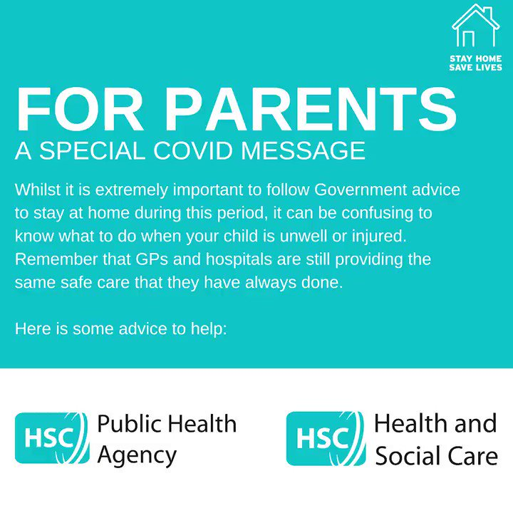 We are urging parents/carers to be vigilant of other childhood illnesses during the #COVID19pandemic. Help and support is available for those who need medical attention! More info see: pha.site/helpifyourchil… #parents #parenting #sickchild #COVID19 #illness