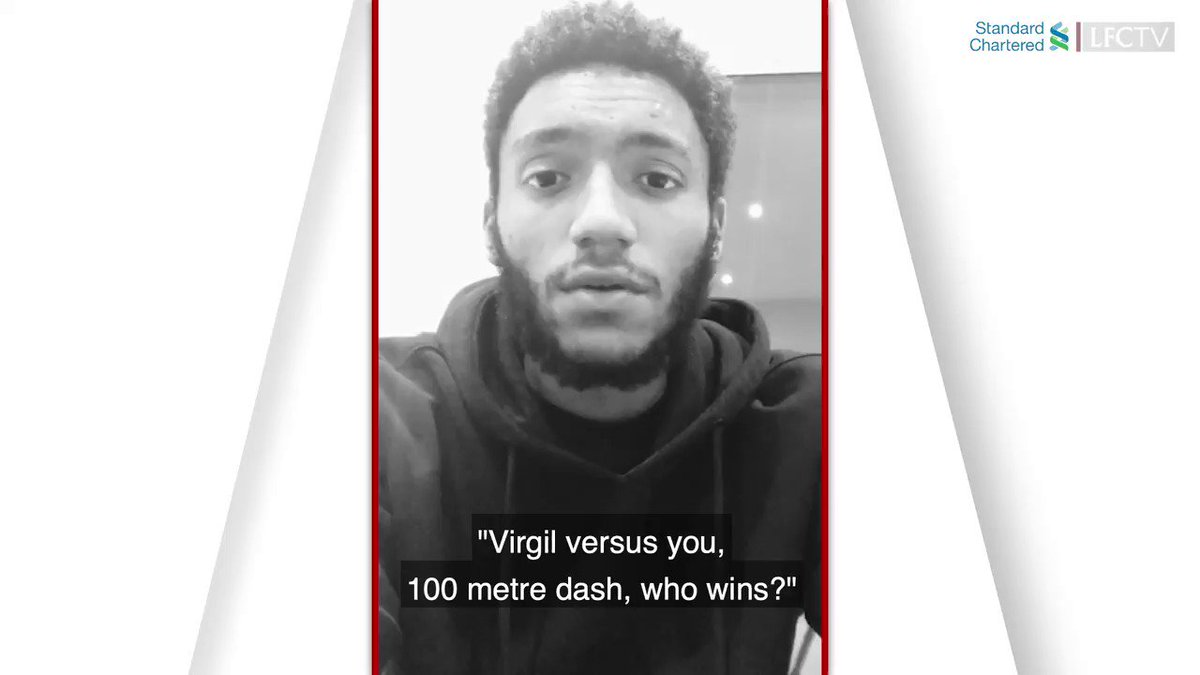 Time for @J_Gomez97 to answer some tricky questions... 👀 🔘 You v @VirgilvDijk. Who wins a 100m dash? 🔘 Best #LFC moment so far? 🔘 Could you beat @trentaa98 in a hip-hop quiz? #AskJoeGomez, presented by @StanChart.