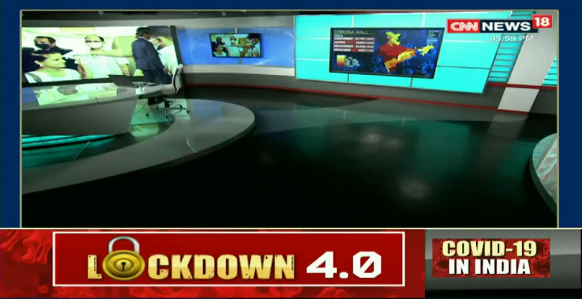 #IndiaFightsCOVID19 – Where does India stand in its fight right now?   Zakka Jacob explains on #News18CoronaWall.   Watch #Viewpoint with @Zakka_Jacob.pic.twitter.com/CLQiOrA1ql