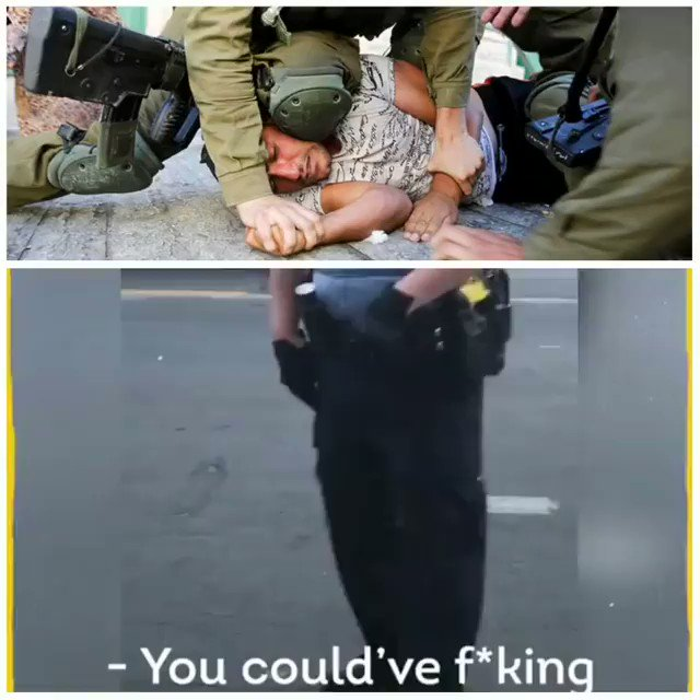 A Black man in Minneapolis city in #USA died after pleading for his life as a police officer knelt on his neck. #justiceforfloyd The structure of supremacy is the same: It regards the lives it oppresses as inferior. They dont matter Black Lives Matter. Palestinian Lives Matter