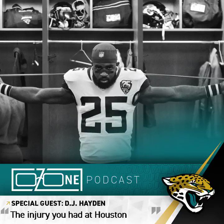 A life-threatening injury couldnt keep @_Go_DJ_ from playing in the NFL. Hear more: jagrs.net/2M2irT1
