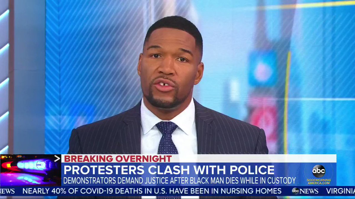 Earlier this morning on @GMA, Bridgett Floyd discussed the tragic death of her brother, George Floyd. My condolences go out to the Floyd family. #GeorgeFloyd #RIP