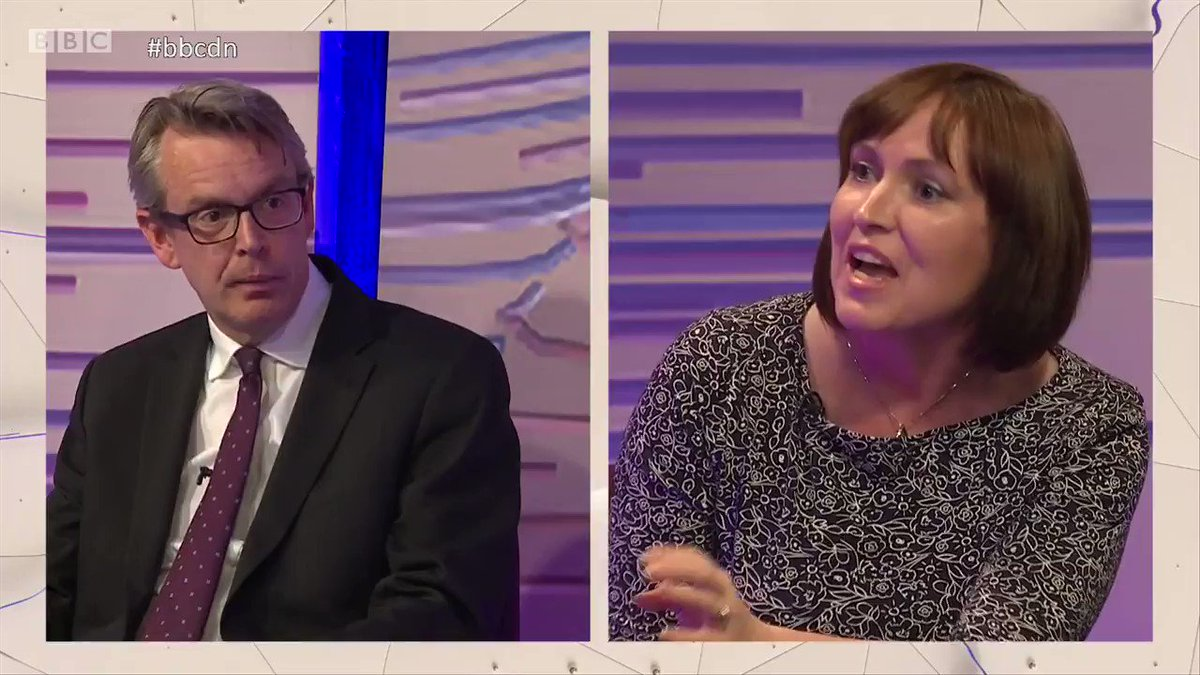 """""""It's been an absolute national scandal what's happened in the care sector."""" """"It's the SNP that's been running the Scottish health service."""" @RozFoyer clashes with @ProfTomkins over investment in public services. #bbcdn"""