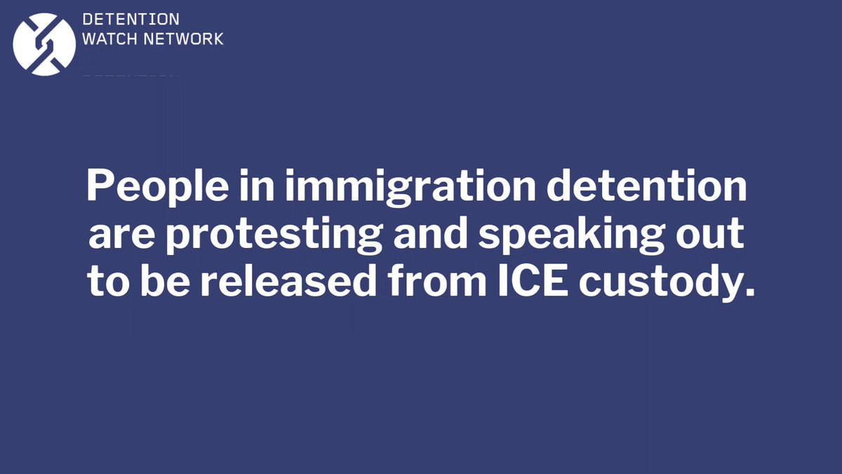 From hunger strikes to sit-ins, people in ICE custody are bravely fighting for their lives and freedom as coronavirus infections continue to soar in immigration detention every day. Amplify their urgent call for liberation – RT this video. #FreeThemAll