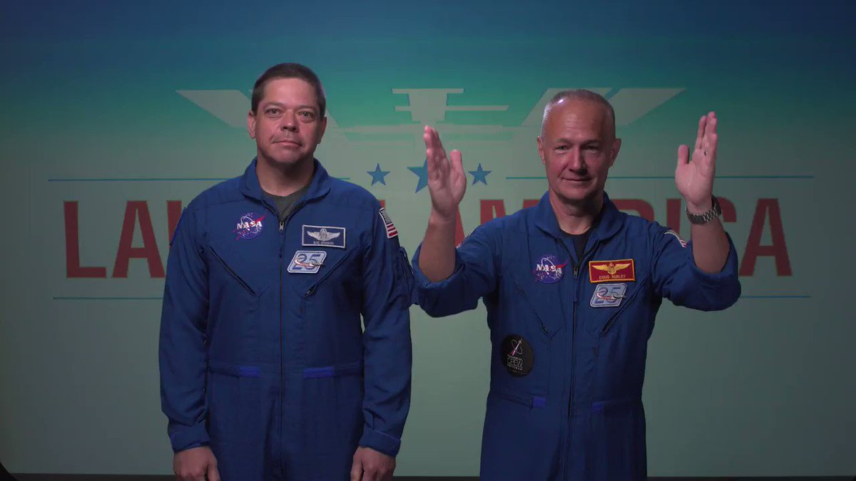 Its been 2 months since @AstroBehnken and @Astro_Doug launched to the @space_station, and now, we're only days away from welcoming them home with a currently scheduled splashdown on Aug. 2! Get to know this dynamic duo through some banter captured before the mission. 🎬 Action!