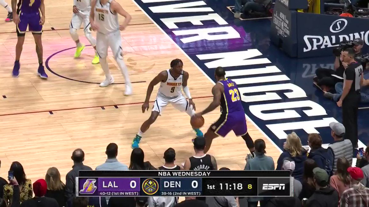 📊: 32 PTS | 14 AST | 12 REB  👑 In February, @KingJames stuffed the stat sheet to lead the @Lakers to victory in OT! #LakerShow  Watch all the best games from 2019-20 on NBA League Pass 🏀  📲🖥: https://t.co/O1oWjySG2L https://t.co/1vL6xQqfCo