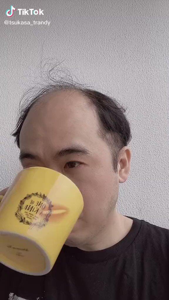トレンディエンジェルの斎藤さん(@Trendy_Angel_S)がユニコーンフェイスに挑戦🦄髪の毛が生えた!と思いきや…横向いたらダメみたいですね🥴皆さんもユニコーンフェイスで遊んでみてくださいね!