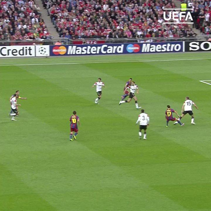 🔵🔴 Barcelona claim their 4th European crown #OTD in 2011 🏆 ⚽️ Pedro Rodríguez, Messi, Villa #UCL   @FCBarcelona