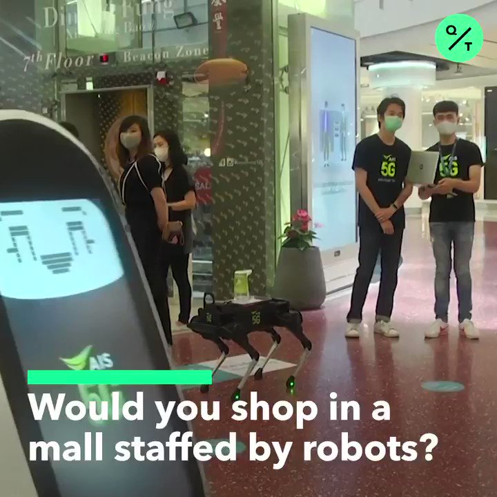 The robots are coming #retailtech #retail #IoT #5G #tech #technology #techtwitterpic.twitter.com/PwMXetbhjO