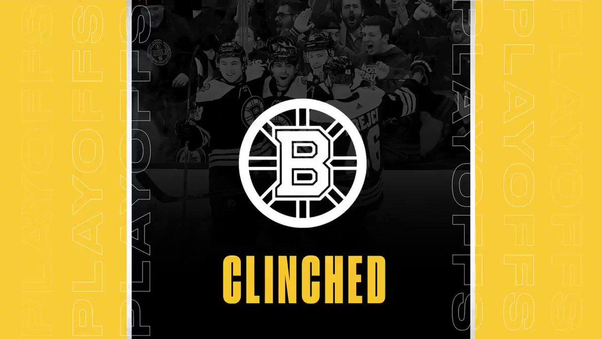 Step 1 complete. ✅ #NHLBruins