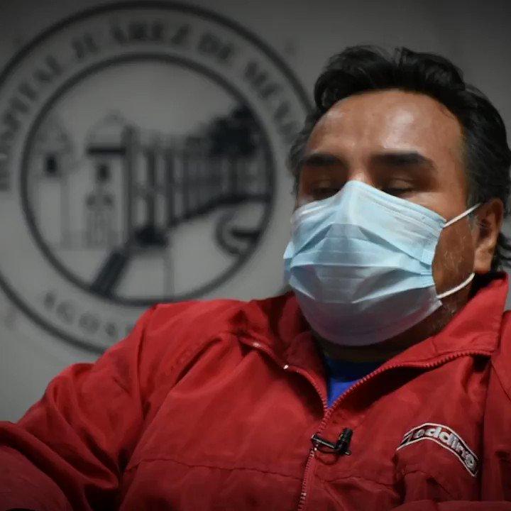 Lino Lora Reyes ni siquiera podía responder a los médicos preguntas sencillas como su nombre o de dónde venía, porque la falta de aire le impedía hablar ➡️ bit.ly/2ZLvBvO