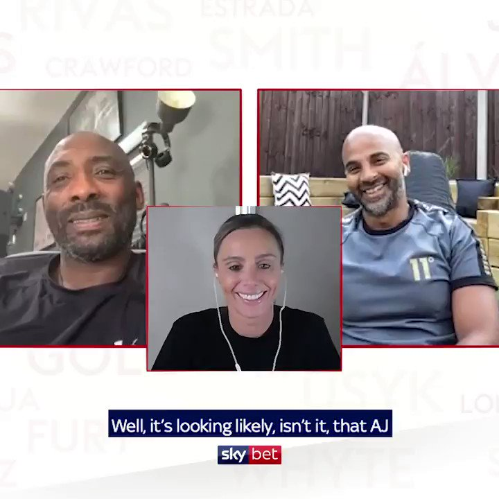 Anthony Joshua has EVERY reason to beat him! 👀 Our boxing experts @SkyJohnnyNelson & @davidcoldwell turn their attention to the Joshua/Fury super-fight 😍🥊 The question is simple... Who wins? 🧐