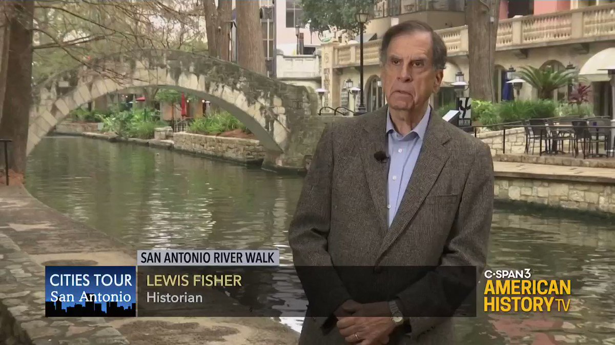 Need a little #staycation? Take a virtual trip with us to San Antonio. Learn about the #history of their famous river walk and other local spots visited by @CSPANCities. Watch tonight on @cspan 3 starting at 11:45pm ET.