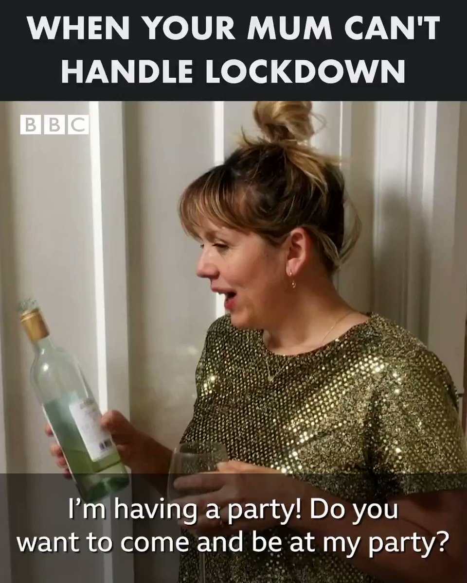 Some mums REALLY cant handle lockdown. 😂 #ComediansHomeAlone