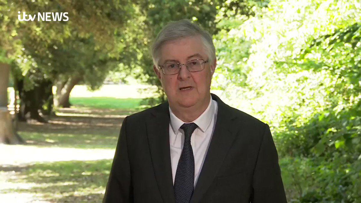 The safest thing that we can do is to offer people to meet in the open air and at a social distance. The First Minister @fmwales explains the latest changes to the lockdown in Wales, which come into force on Monday. Find out more here: bit.ly/2TT6Mu6