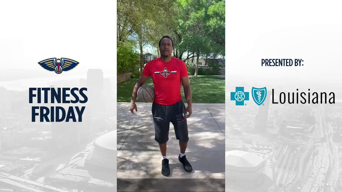 Pelicans player development coach A.J. Diggs shares some drills to do to improve your ball handling for @BCBSLA Fitness Friday on #HomeTeamTV