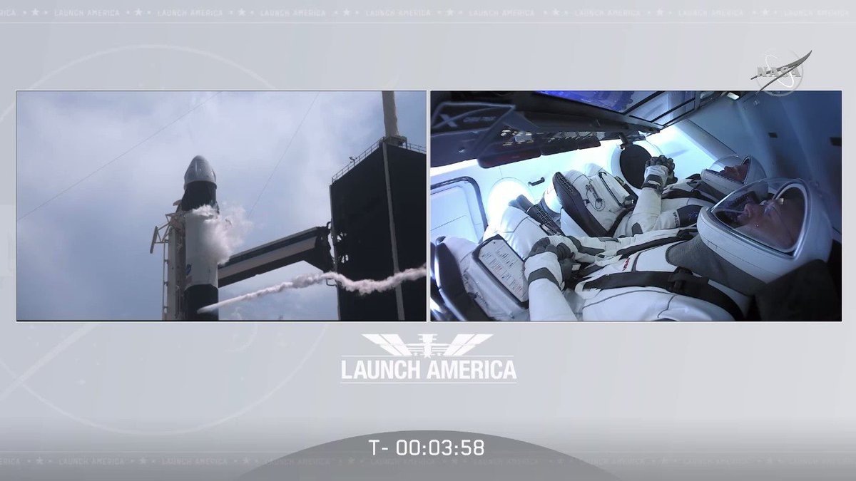 Image for the Tweet beginning: We are moments from launch.