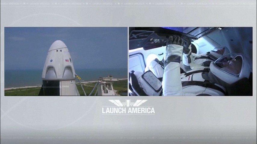 Secuencia completa del lanzamiento de la NASA y #SpaceX #LaunchAmerica http://bit.ly/36Rz7Xepic.twitter.com/pTIFZnhttp