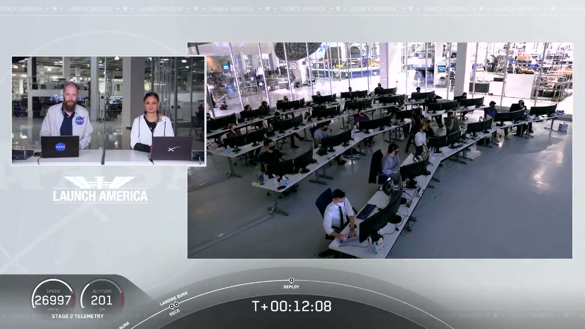 @SpaceX's photo on International Space Station