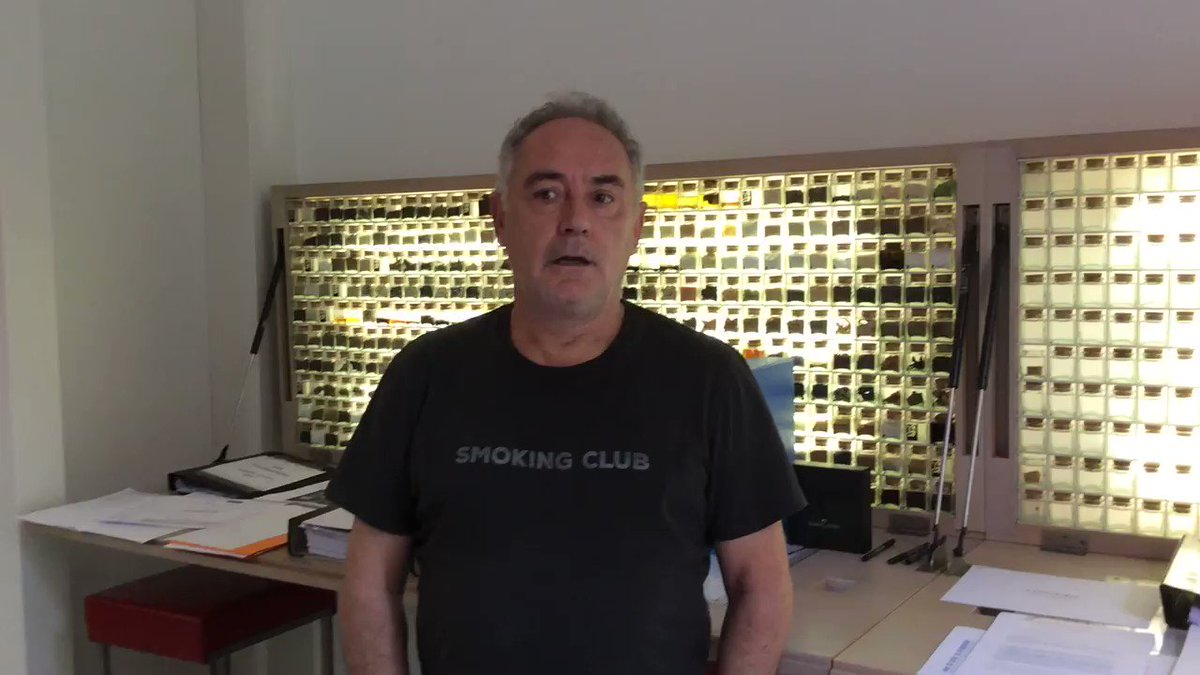 Todas las exposiciones que hemos realizado durante estos años, de las que podéis ver imágenes aquí: https://t.co/f2pP5ljg3i, nos han fortalecido para afrontar el gran reto de los proyectos expositivos de #elBulli1846 y #LABulligrafía. Hasta mañana a las 11:30. #SeguimosConectados https://t.co/beK1IG3Kxi