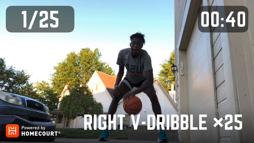 Show us your skills on @HomeCourtai ‼️   Try to keep up with #JrNBAGlobalChampionship alumnus & 2018 Teamwork Award Winner Mark_Mitchell25 from the U.S. Central & @kcrungmc 🏀 Post your own videos using #JrNBAatHome https://t.co/LN4V8jRer8