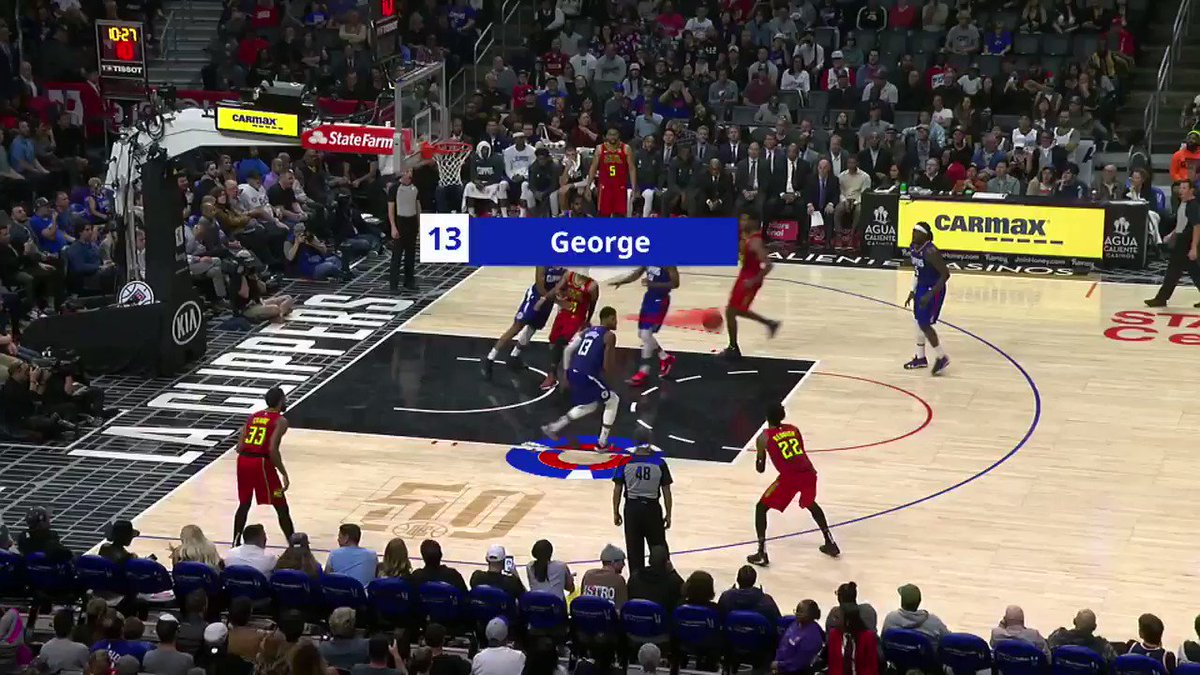 PG-13 does everything to get the win‼️  What a sequence by @Yg_Trece from the @LAClippers in today's #JrNBAatHome Study the Game 🏀 #NBATogether #NBATogether https://t.co/QH6qmWjkLf