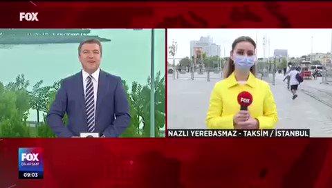 Yeni normalin ilk gününde İstanbul sokakları nasıl? #FOXHaber muhabiri #NazlıYerebasmaz #Taksim'den normalleşmenin ilk günü izlenimlerini #İsmailKüçükkaya ile #ÇalarSaat'te aktardı.