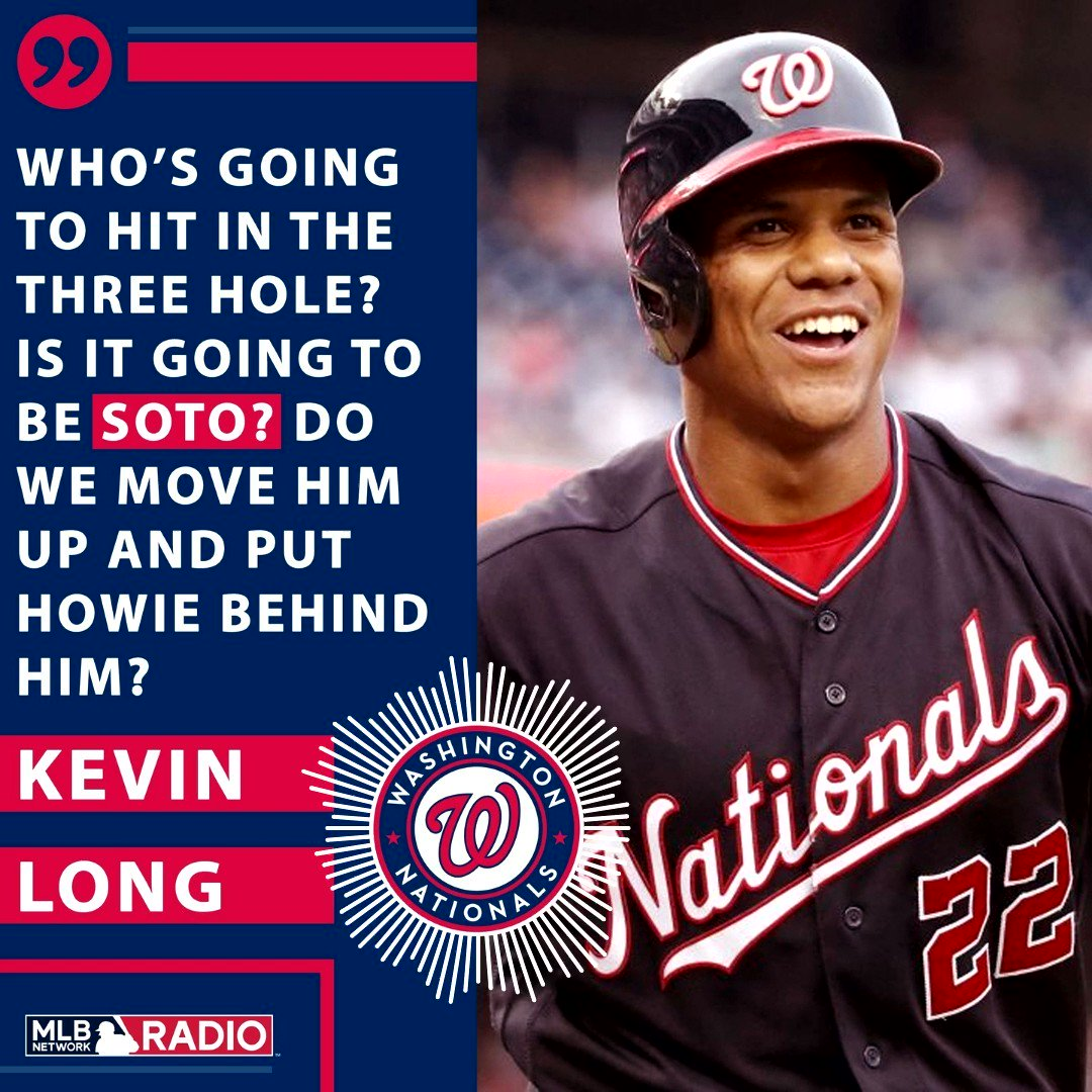 PRO TIP: Maintain your sanity by talking about Juan Soto at least once a day. @Nationals | #Nationals | #NATITUDE