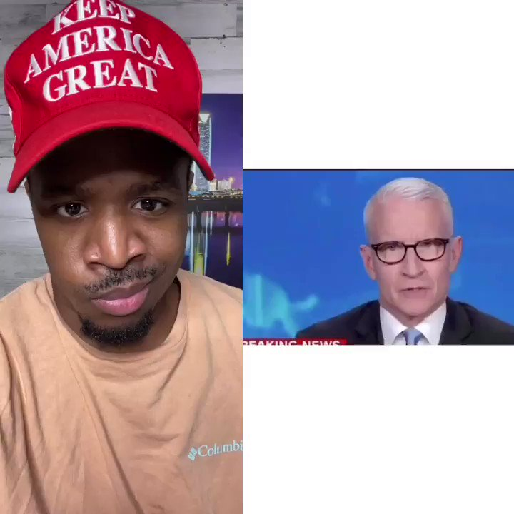 BREAKING LIES! Anderson Cooper is lying again President @realDonaldTrump never called Black People thugs. He never said he want to dominate Black People! He is against LOOTERS NOT BLACKS COOPER IS WORKING HARD TO DIVIDE US! Who else is sick of cooper?