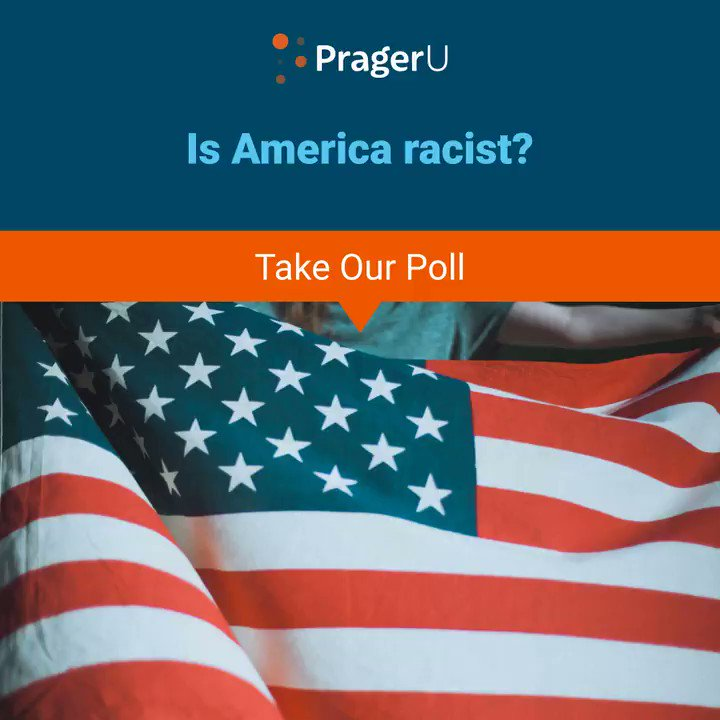 Image for the Tweet beginning: Is America racist?TAKE THE