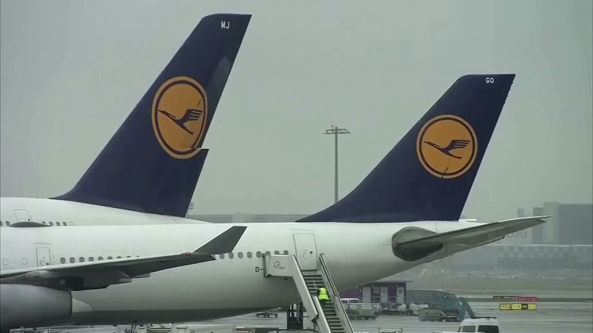 Lufthansa suffered a 98% slump in April passenger numbers compared to last year https://t.co/6o1CbpaH68