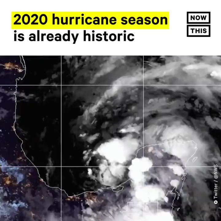 The Atlantic hurricane season officially started on June 1, and scientists have already named the third storm of 2020. Tropical Storm Cristobal is the fastest a third storm has been named in the Atlantic during hurricane season in recorded history.