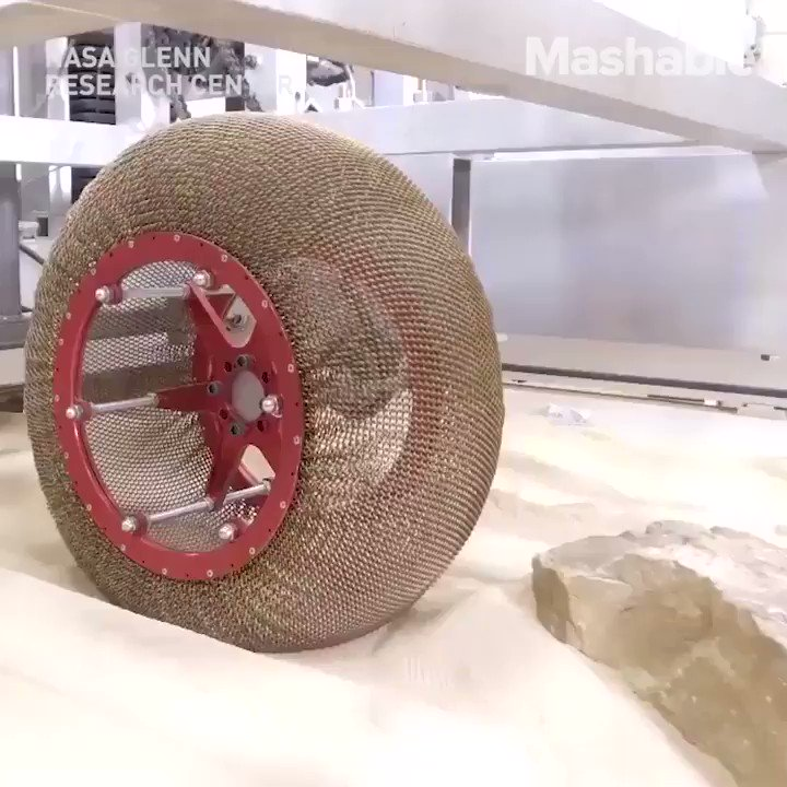 Replying to @UniverCurious: NASA researches literally reinvented the wheel.