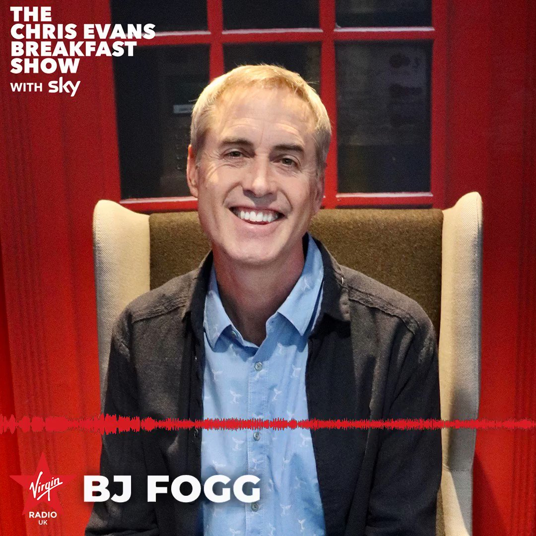 Chatting about his book Tiny Habits: The Small Changes That Change Everything, @bjfogg tells us which Tiny Habits hes incorporated into his life that we can adopt 🎵 #ChrisEvansBreakfastShow #TinyHabits
