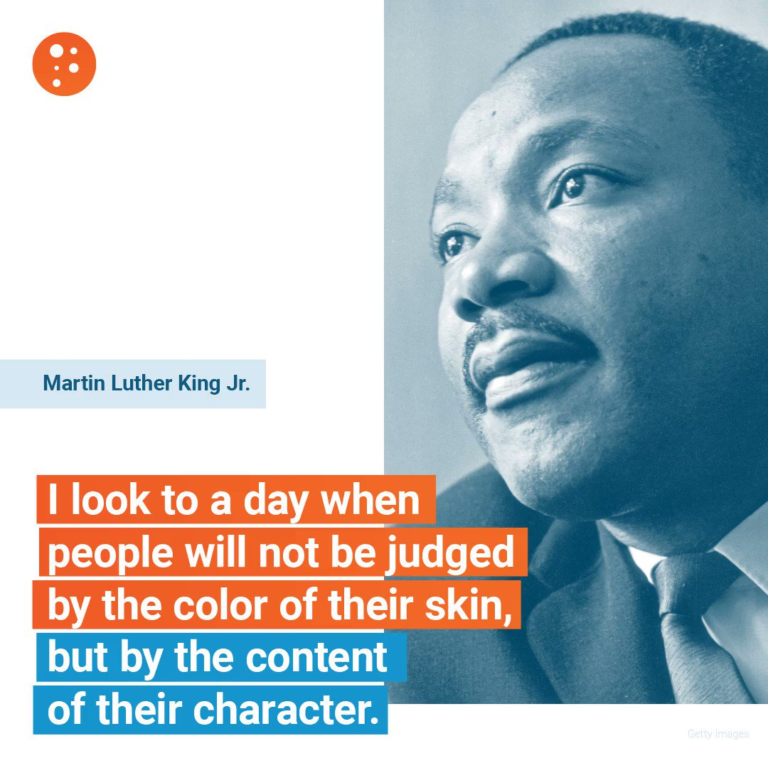 Image for the Tweet beginning: CHARACTER. #MLK