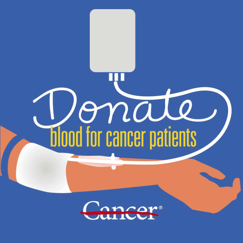Image for the Tweet beginning: Learn how blood donations help
