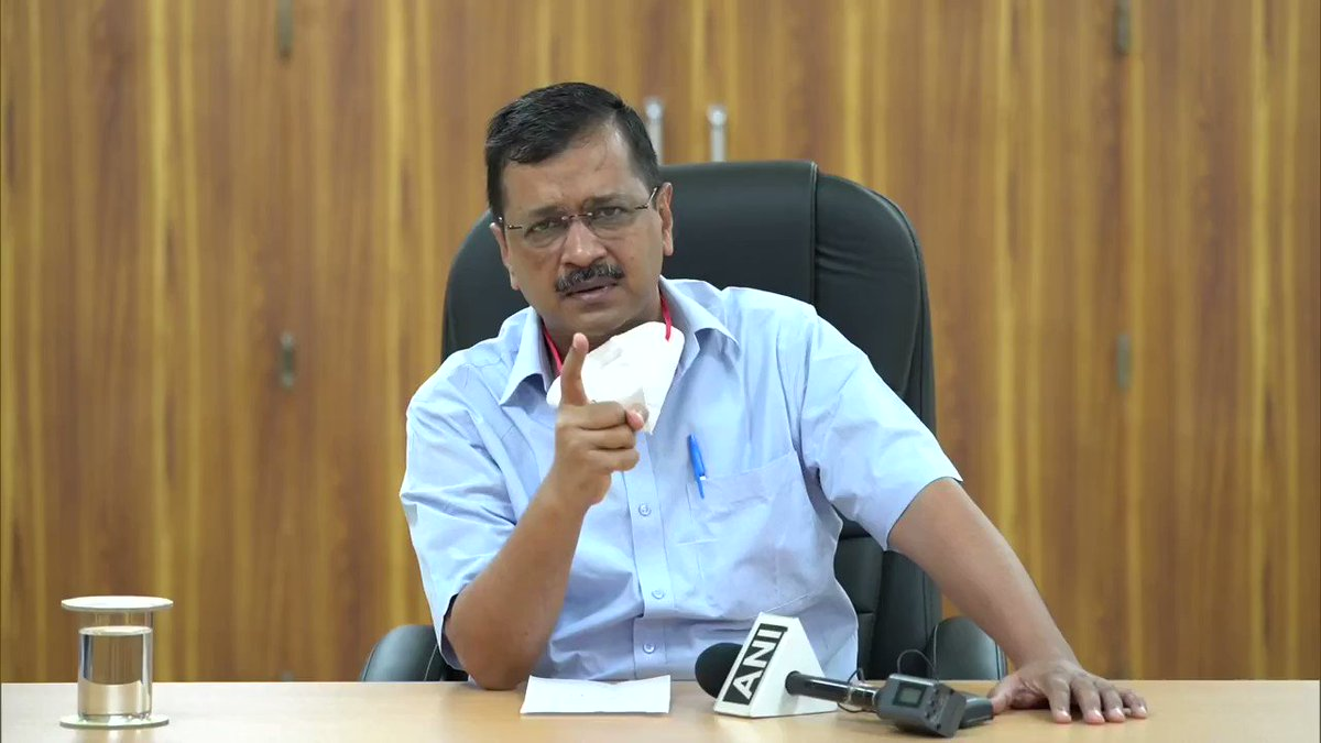 #WATCH Some hospitals are denying admission to #COVID19 patients. I am warning those who think they will be able to do black-marketing of beds using the influence of their protectors from other parties, you will not be spared: Delhi Chief Minister Arvind Kejriwalpic.twitter.com/1usHkXJS15