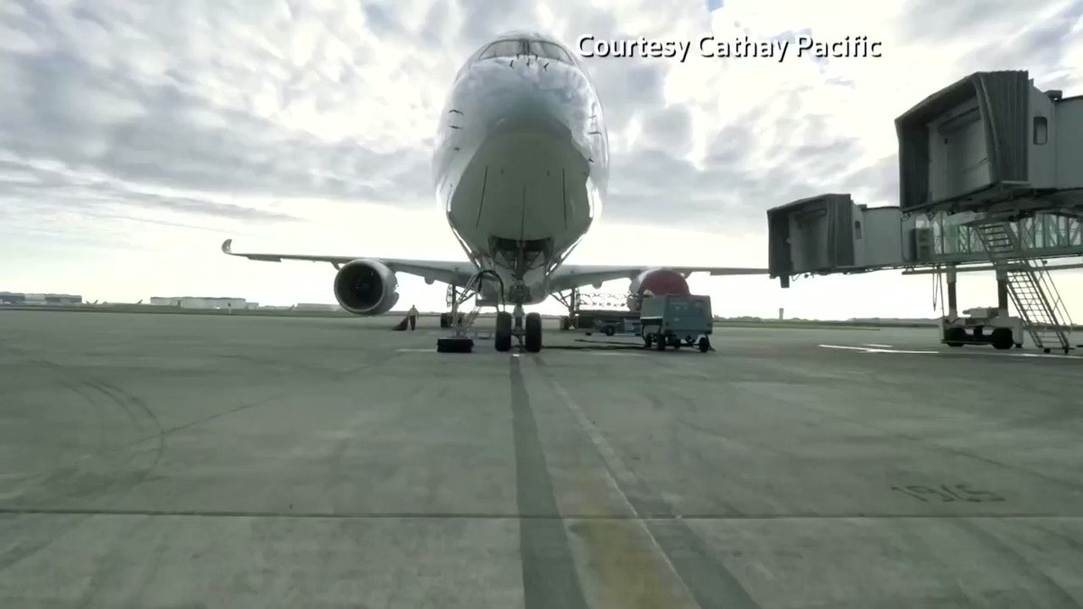 Image for the Tweet beginning: Troubled airline Cathay Pacific announces