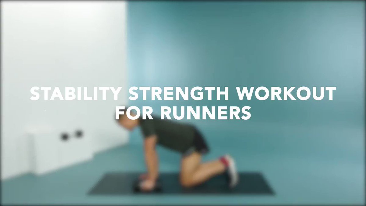 Image for the Tweet beginning: Runners will love this workout