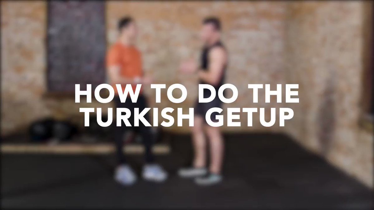 Image for the Tweet beginning: How to: The Turkish Getup