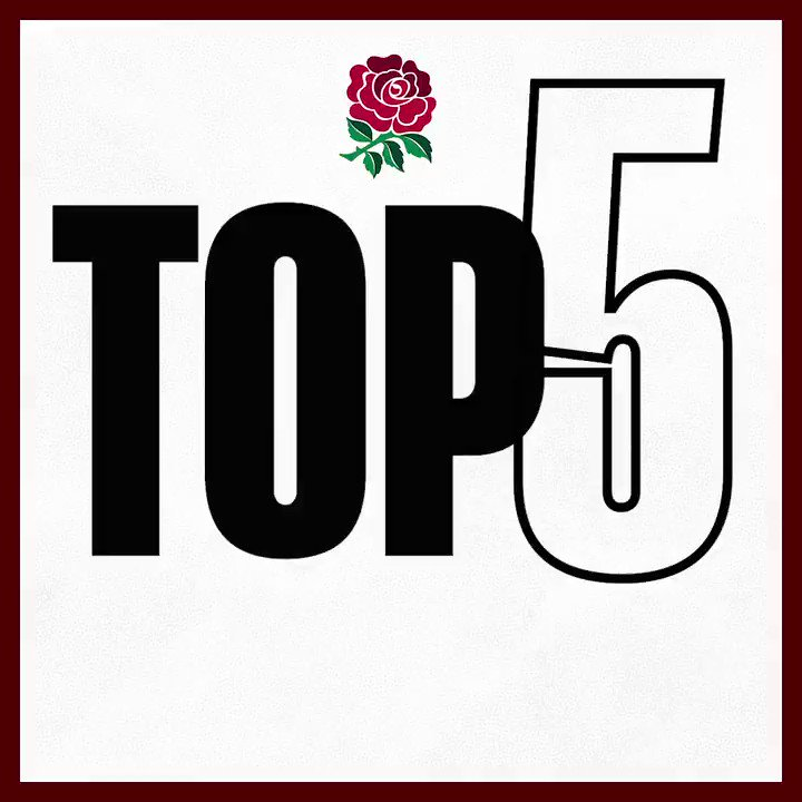 🔝5️⃣ Flying Finishers 🚀 Which of these #RedRoses tries is your favourite? 👇