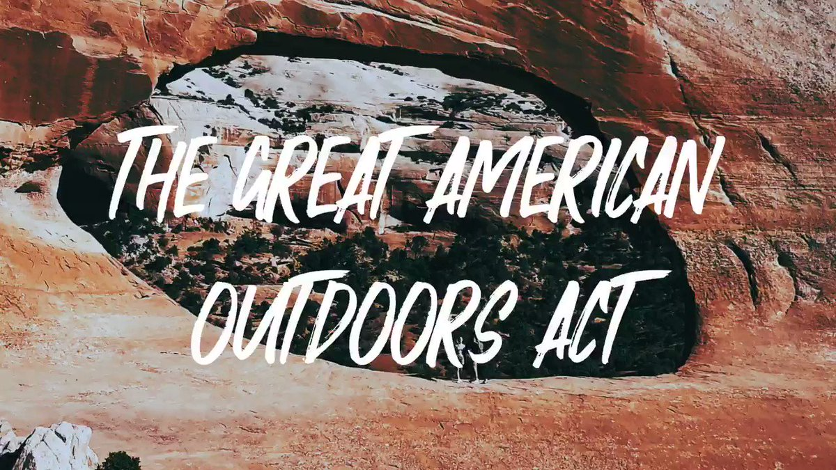 President Trump just signed the Great American Outdoors Act into law. The GAOA will protect our countrys natural treasures and promote recreation and conservation for generations — thanks to the strong leadership of @SenCoryGardner and @SteveDaines.