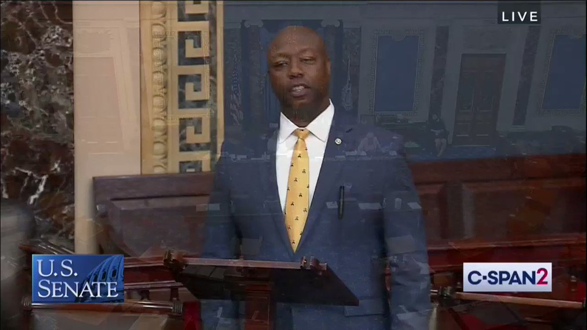 Part One of what I know was a difficult speech for @SenatorTimScott but one only he could give