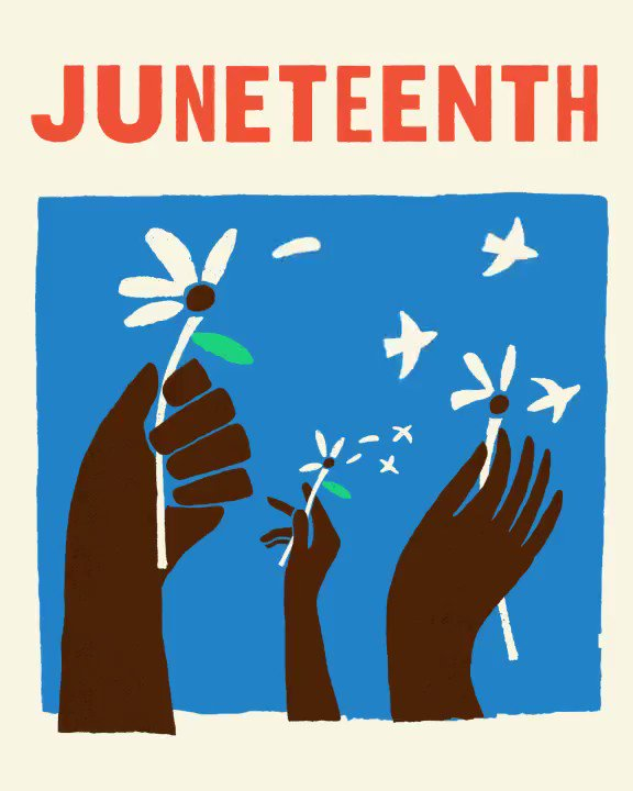To honor #Juneteenth, we're taking time to become better listeners and greater-informed individuals, so we're more equipped to take action. This won't be a conversation reserved for one day, it's one we'll continue having until racial injustice is no longer a reality. https://t.co/4xOSllRI0D