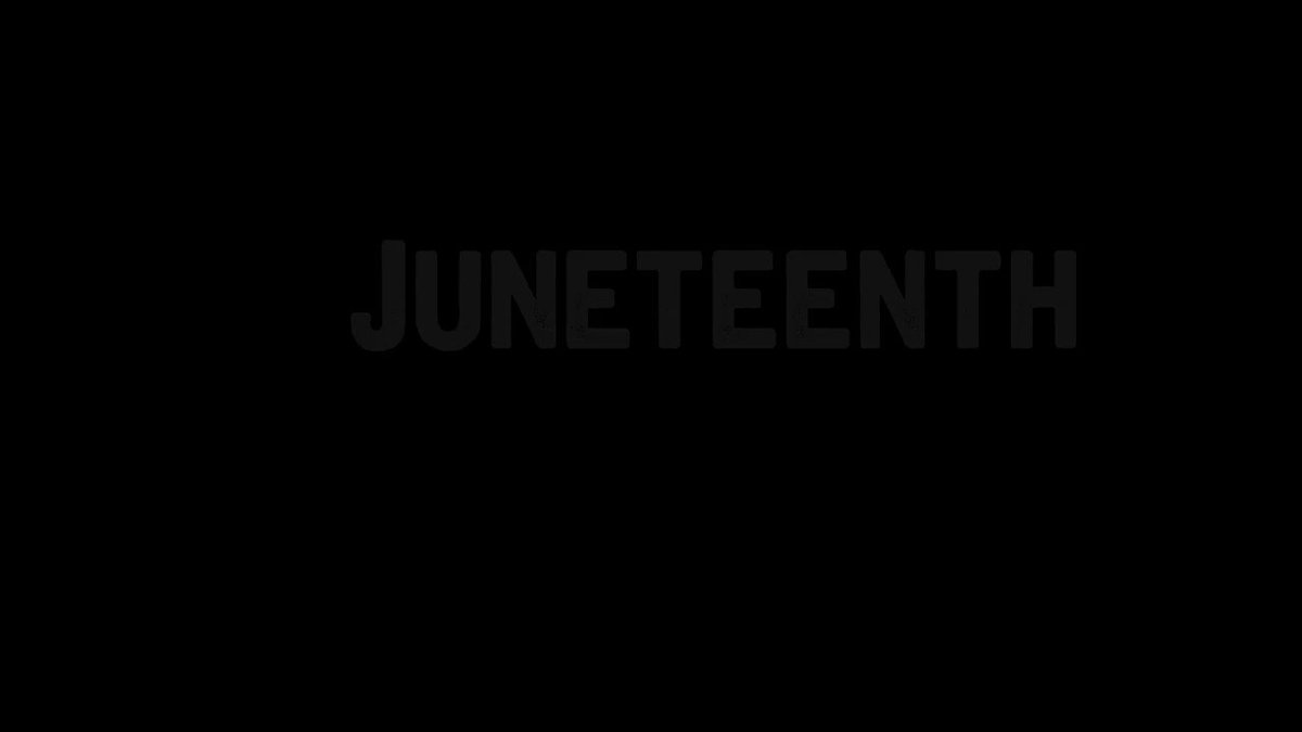 It's the #Juneteenth episode of #OMKalen. I hope you'll watch.