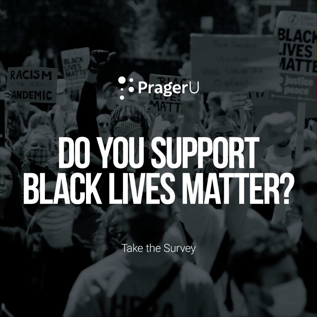 Image for the Tweet beginning: What's your opinion on #BlackLivesMatter?